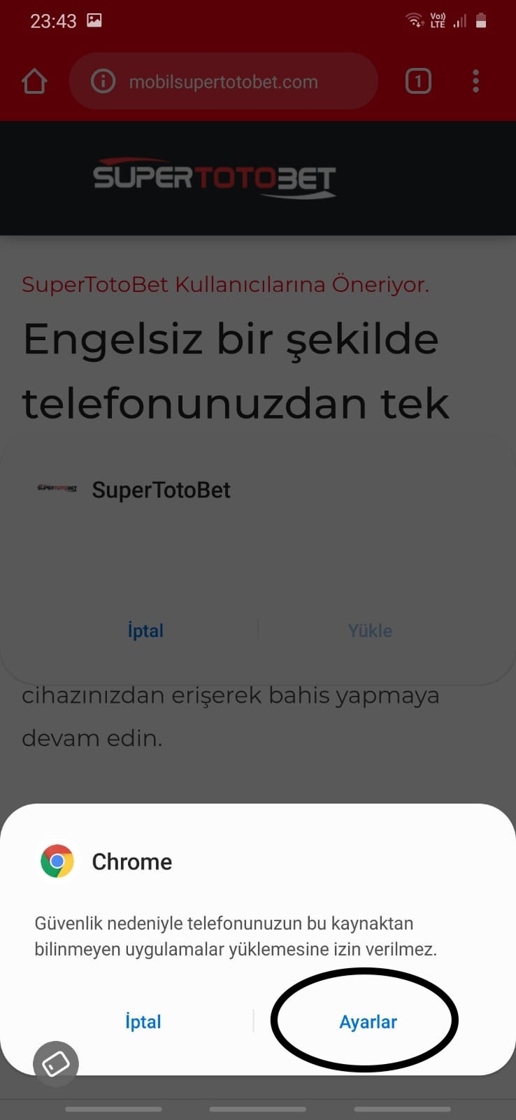 SuperTotoBet Android